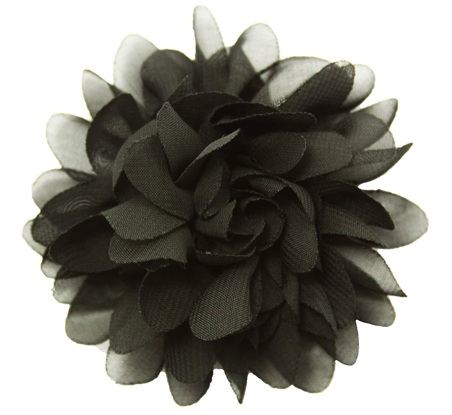 "Wholesale Princess 3.5"" Chiffon Fabric Flower Hair Clip"