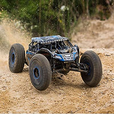 1/10 Rock Rey 4WD RTR with AVC, Blue