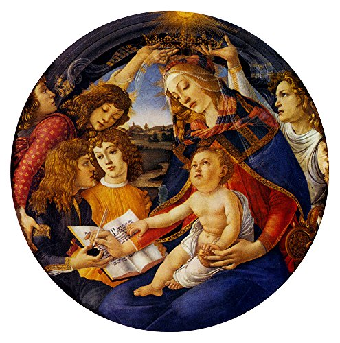 Madonna Of The Magnificat by Sandro Botticelli - 20