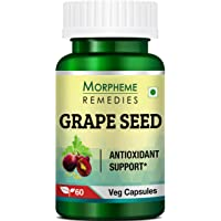 Morpheme Remedies Grape Seed Extract 500 mg - 60 Veg Capsules
