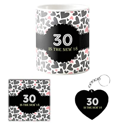 Buy Designer Panda Mug Gifts For 30th Birthday 30 Is The New 18