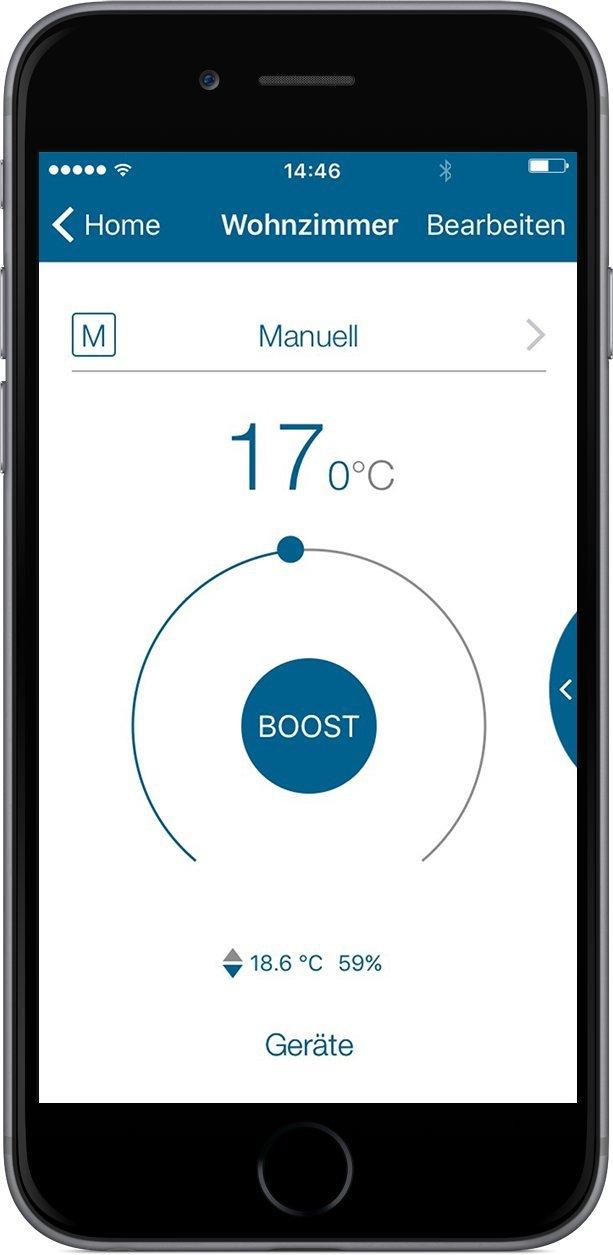 auch per kostenloser App Rollladenaktor intelligente Steuerung von Rolll/äden und Markisen Homematic IP Smart Home Starter Set Beschattung