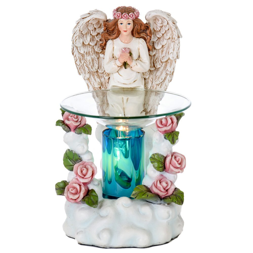 Angel Poly-resin Oil Burner - Wax Melter - Candle Burner - Air Freshener - Great Aroma by OBI