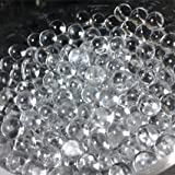 Sensory Jungle 16,000 Floral Water Pearls - Clear - Vases and Centerpieces for Wedding Beads - Makes 12 gallons of Water Beads