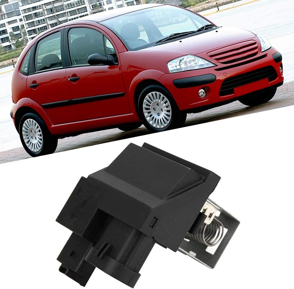 Blower Motor Resistor 9662872380 Radiator Fan Motor Relay Resistor Replacemet Fits for Citroen C2