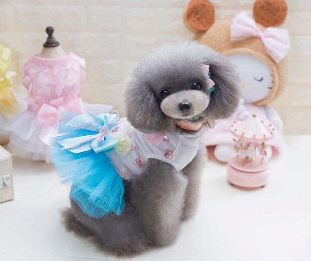 Legendog Falda De La Boda del Perro Falda Encantadora del Caramelo Ropa para Mascotas Vestido De Cachorro Disfraz