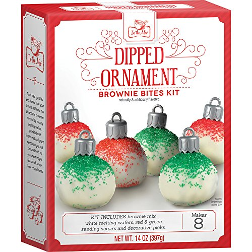 Crafty Cooking Kits Dipped Ornament Brownie Bites Kit, Chocolate, 14 Ounce (Cookie Baking Kit)