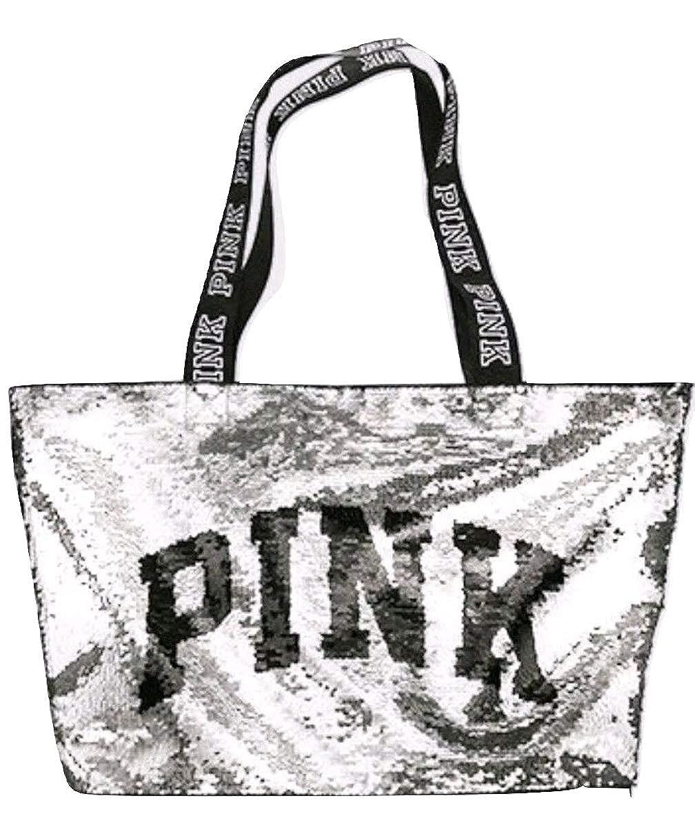 7a035bc3e0166 Amazon.com: Victoria's Secret PINK Black Friday Sequin BlingTote ...