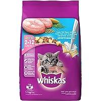 Whiskas Kitten Cat Food Junior Ocean Fish, 1.1 kg Pack