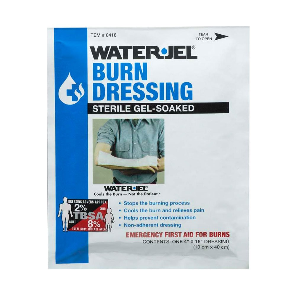 ProStat First Aid 2058 Burn Dressing - 4'' x 16''