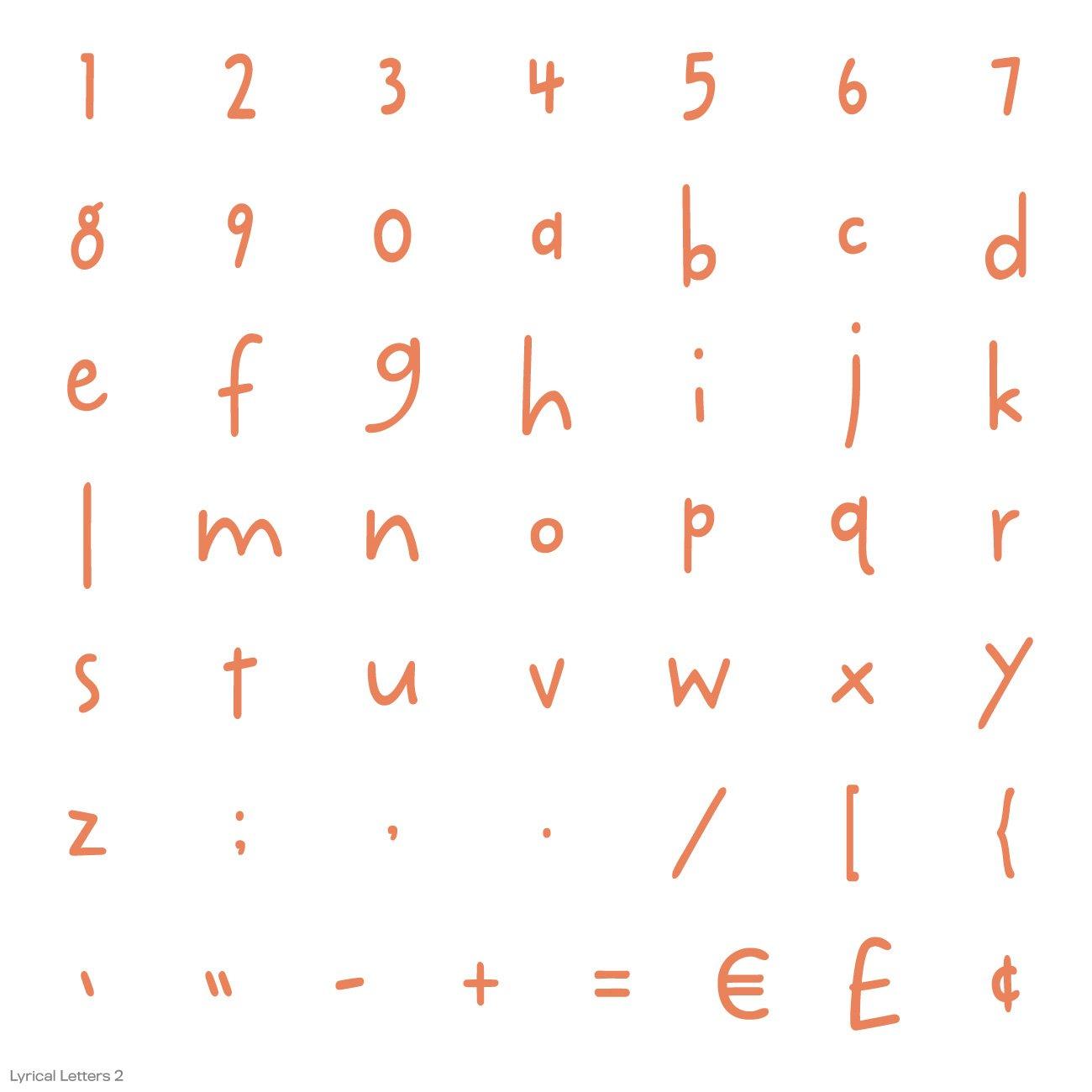 Cricut Lyrical Letters 2 Cartridge by Cricut (Image #12)