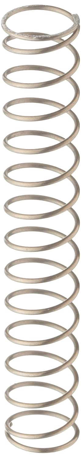 Music Wire Compression Spring Steel Metric 10.8 mm OD 0.8 mm Wire Size 6.91 mm Compressed Length 20 mm Free Length 15.39 N Load Capacity 1.2 N mm Spring Rate Pack of 10