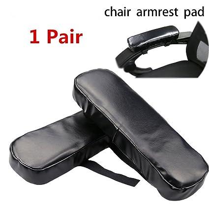 Amazon Com Gzq 1 Pair Arm Chair Pads Ergonomic Momery Foam Comfort