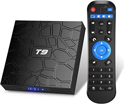TUREWELL T9 Android 9.0 TV BOX 2GB RAM/16GB ROM Support 2.4/5.0Ghz WiFi BT4.0 RK3318 Quad-Core 4K 3D HDMI DLNA Smart TV BOX: Amazon.es: Electrónica