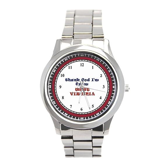 goldenvenus West Virginia Reloj de pulsera