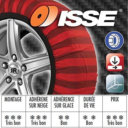 ISSE C60066 Cadenas Textiles para Nieve Tribologic Classic, Talla 66: Amazon.es: Bricolaje y herramientas