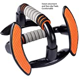 Push Up Bars Stands Handles,Gym & Home Fitness Training Muscle Chest Building Workout Exercise for Men and Women-Foam Handle