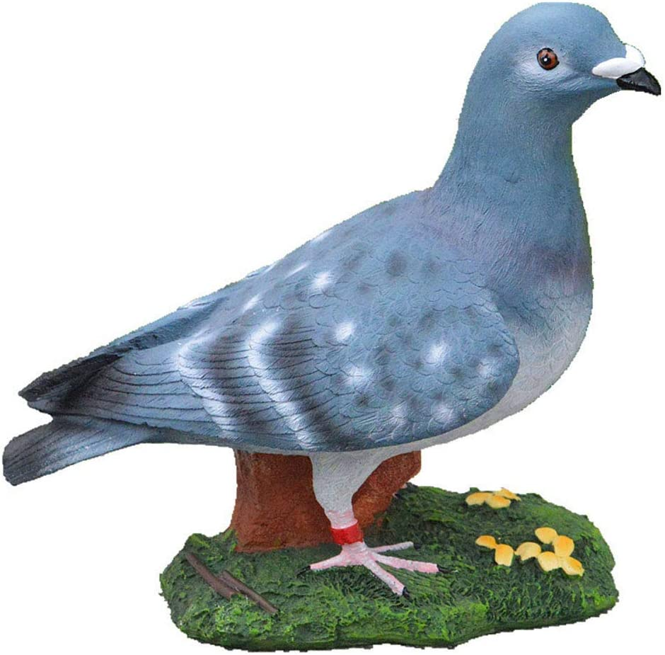 l.e.i. Gnome Garden Ornaments,Outdoor Garden Figurine,Backyard Art -Pigeon Garden Statue,Indoor Outdoor Animal Landscape Decorations