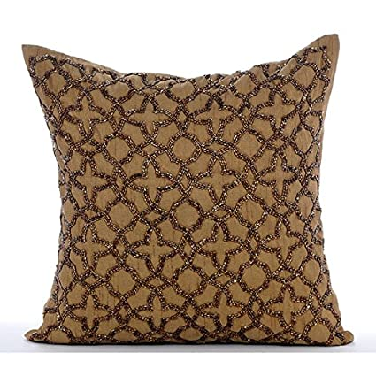 bed luminescence bath beyond light throw buy from in metallic pillow victory gold pillows mina