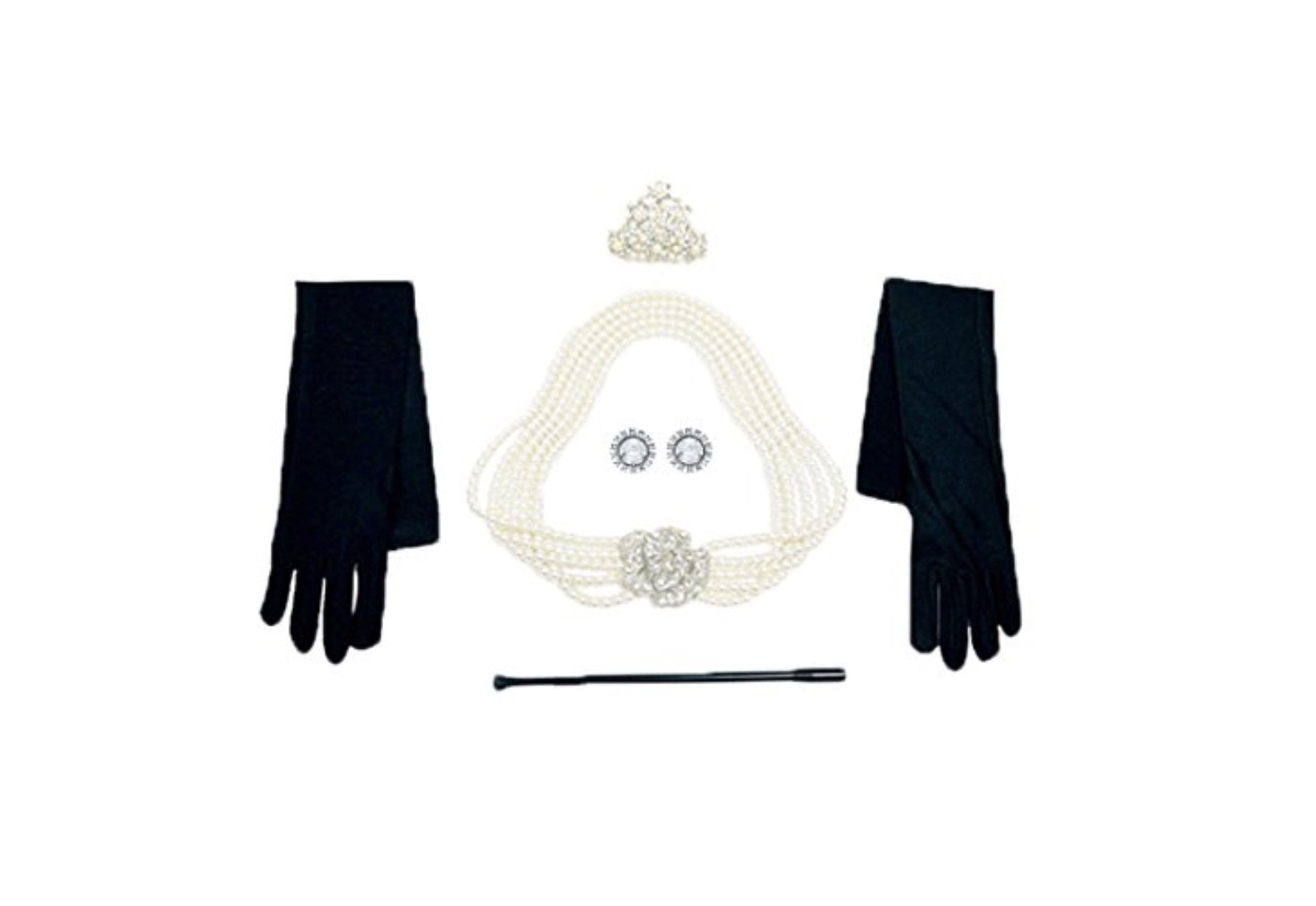 Utopiat Costume Jewelry and Accessory Set, Audrey Hepburn, Breakfast at Tiffany's