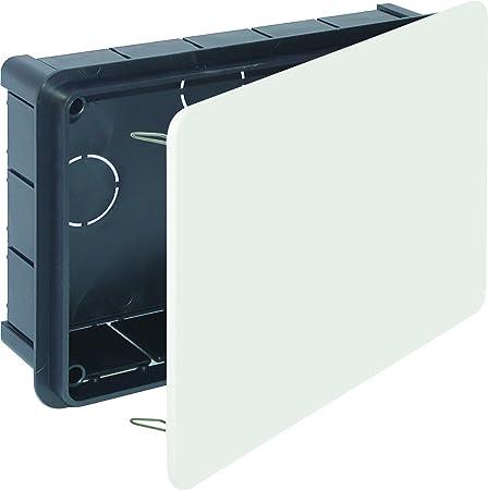 Solera 614 - Caja 200x130x60 tapa blanco garra metálica bolsa: Amazon.es: Bricolaje y herramientas