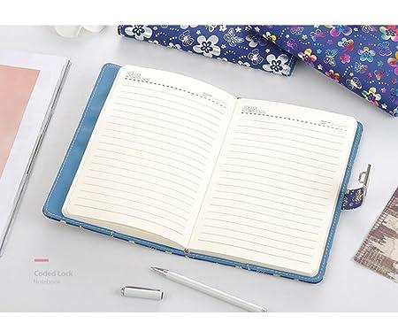 Amazon.com: nainaiwu diario Notebook Record diario con ...