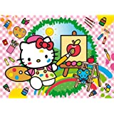 Clementoni 20064–Puzzle 3d Hello Kitty Arte