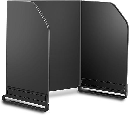 Foldable Monitor Sun Hood, Cell Phone - Tablet Sunshade Sun Visor Cover for DJI All Series, Compatible with DJI Mavic Mini/Air 2 / Mavic 2 / Pro/Spark/Phantom/Inspire/Osmo (L128)