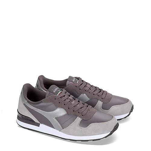 b4e6eaba9e35c5 Diadora Camaro LTR Unisex Sneakers Grey: Amazon.co.uk: Shoes & Bags