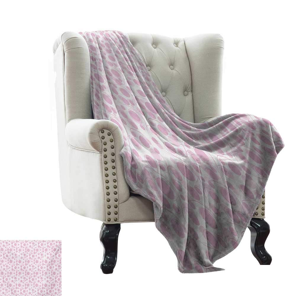color06 50 x70  Inch Weighted Blanket for Kids Pink and White,Distressed Vintage Grunge Texture Image of Wood Planks Painted in Pink,Dark Coral Pink Soft Summer Cooling Lightweight Bed Blanket 50 x60