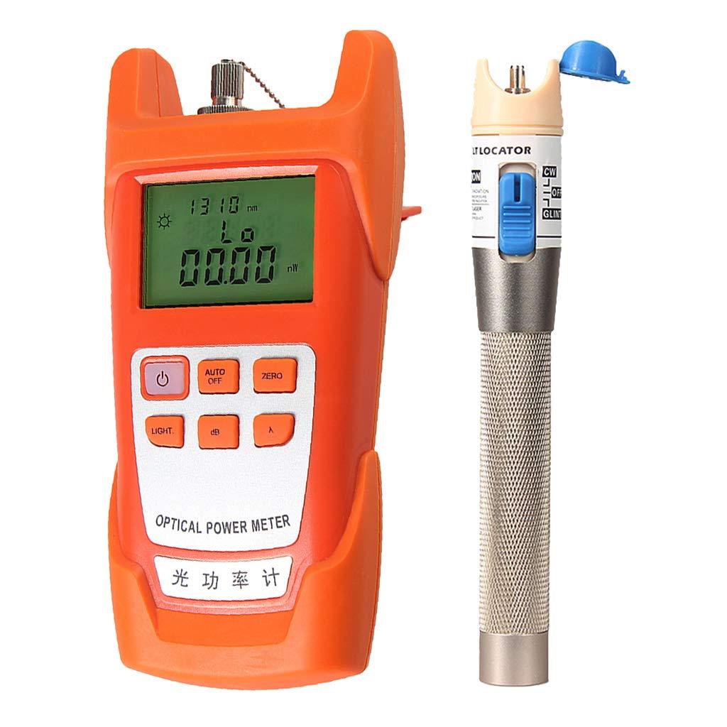 SM SunniMix 1Set -70dBm~+10dBm 850~1625nm Optical Power Meter Tester FC SC Handheld Optical Power Meter + 1mW Visual Fault Locator Pen by SM SunniMix (Image #10)