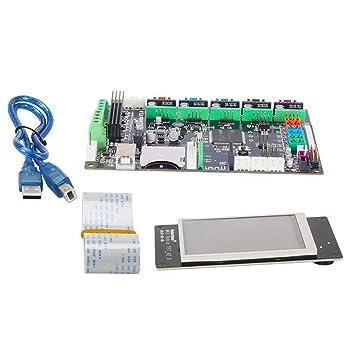 Lesiey Impresora 3D Placa Base Placa Base MKS Robin STM32 ...