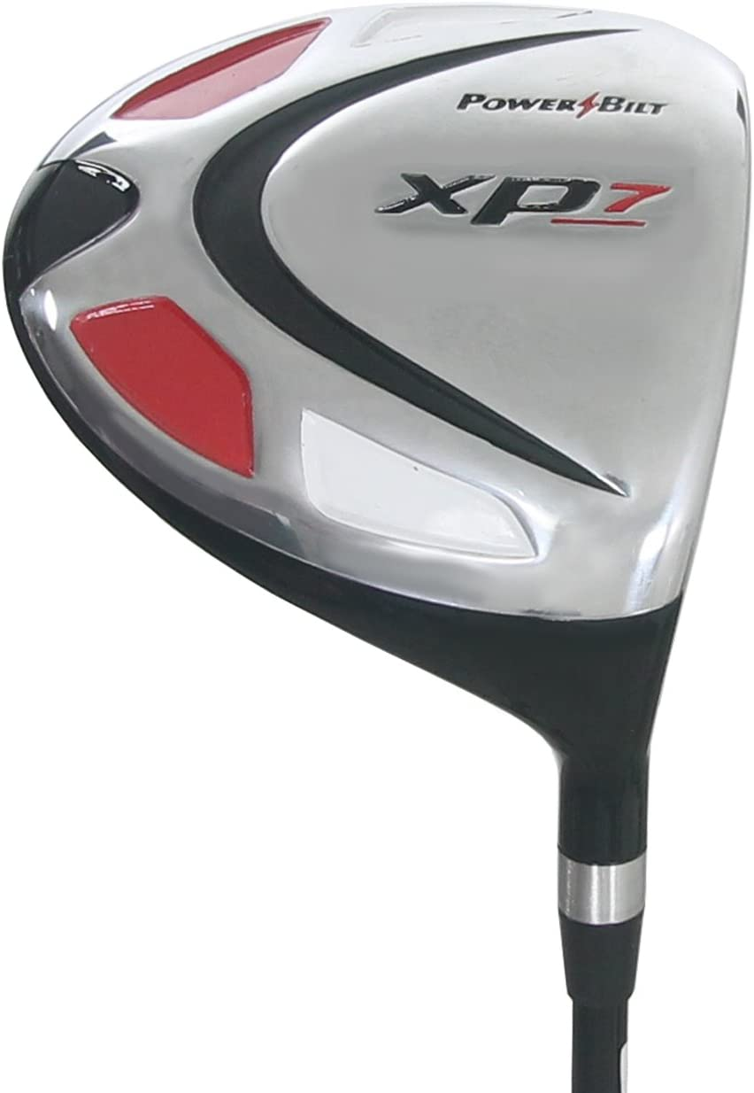 Powerbilt Golf Clubs XP7 Black 10.5 Driver, Graphite Senior Flex Shaft