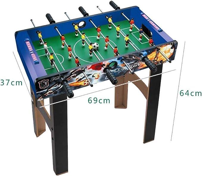 MJ-Games Mini Jugadores de futbolín/futbolín, Juegos de Interior ...