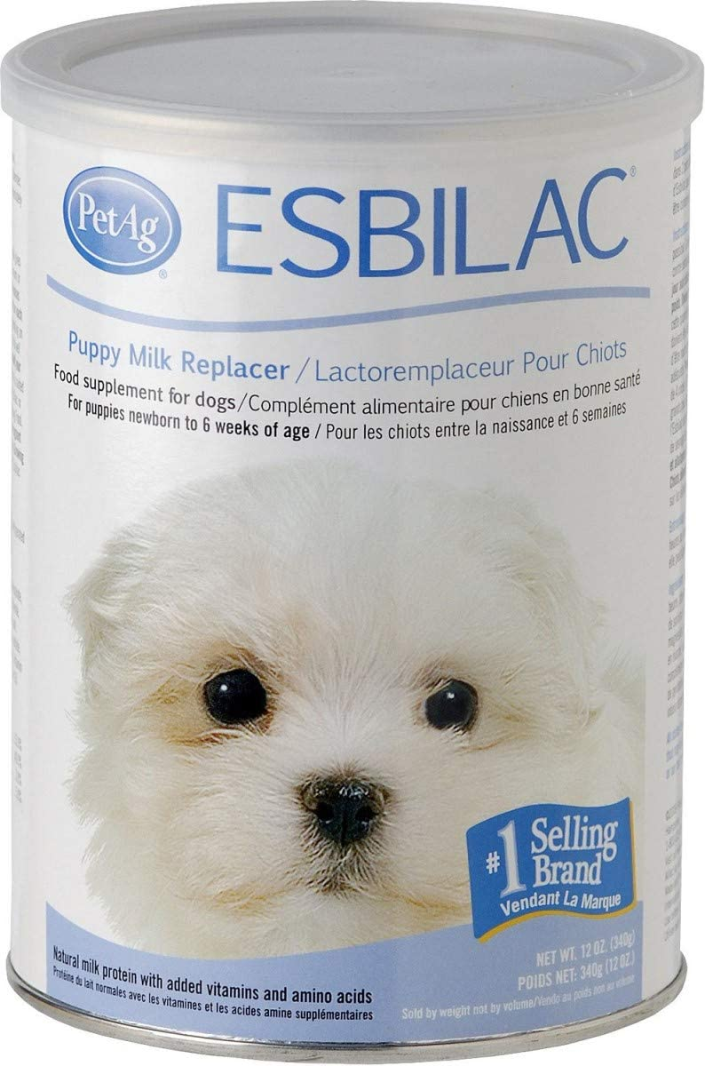 (3 Pack) Pet Ag Esbilac Powder Puppy Milk Replacer and Dog Food Supplement - 12 Ounce