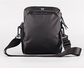 Radfahren Fahrrad Lenkertasche Wasserdichte Tasche mit großer Kapazität Schwarz