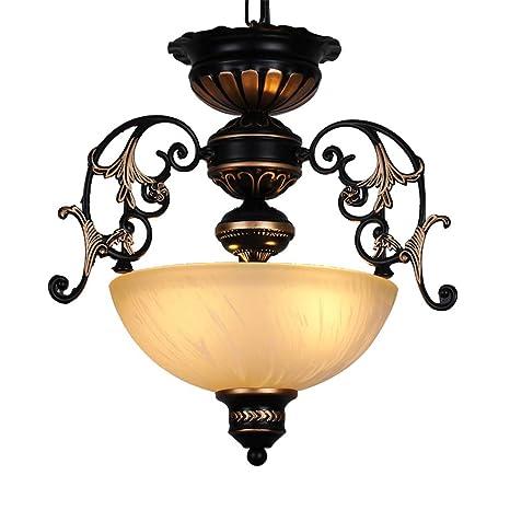 Araña de luces para Corredor comedor diseño vintage redonda ...