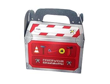 6 cajas de regalo * * de bomberos con asa para fiestas de ...