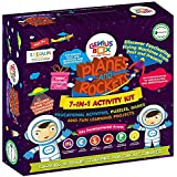 Genius Box Learning Toys Activity Kit - Planes and Rocket, Red