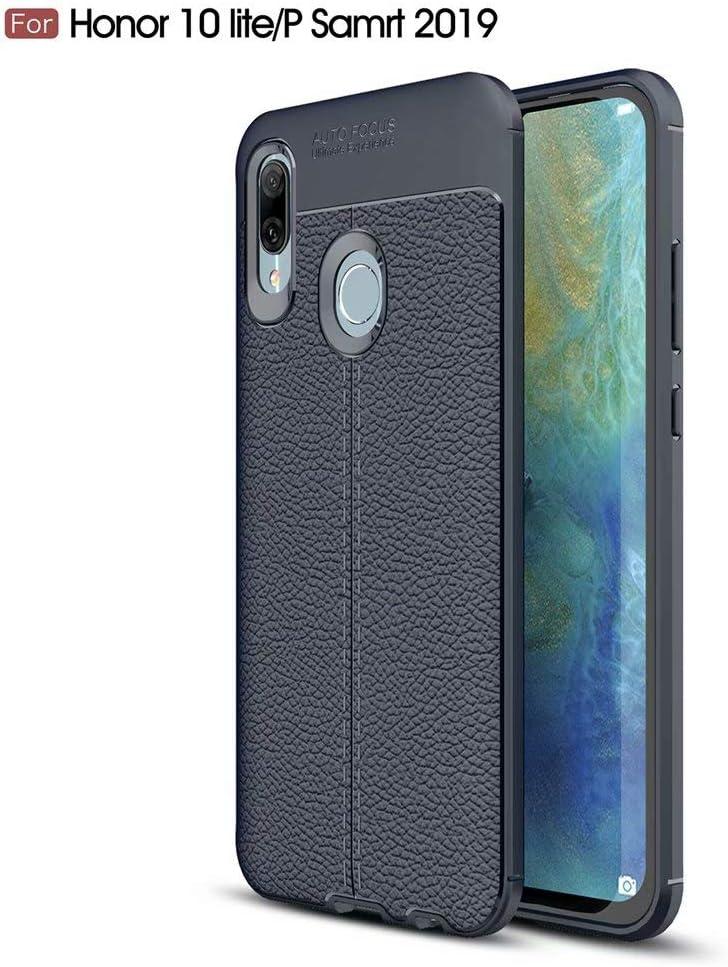 WYRHS Compatible con Huawei P Smart 2019/Honor 10 Lite Funda TPU de Silicona Suave Ultra Delgado Carcasa de Telefono Rasguño a Prueba de Golpes Resistente Anti-caída Caso-Azul: Amazon.es: Electrónica