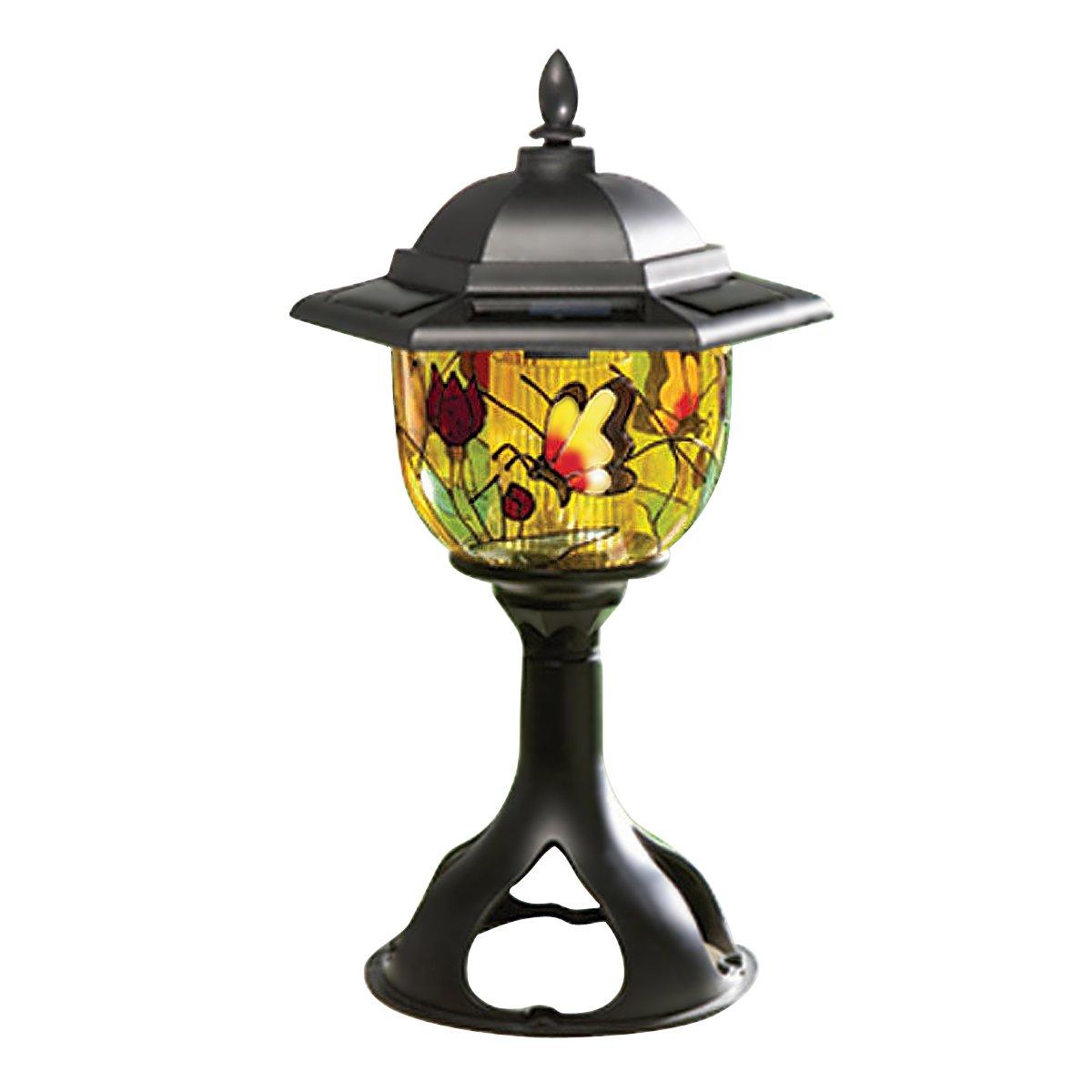 Solar Patio and Garden Light, Tiffany Style
