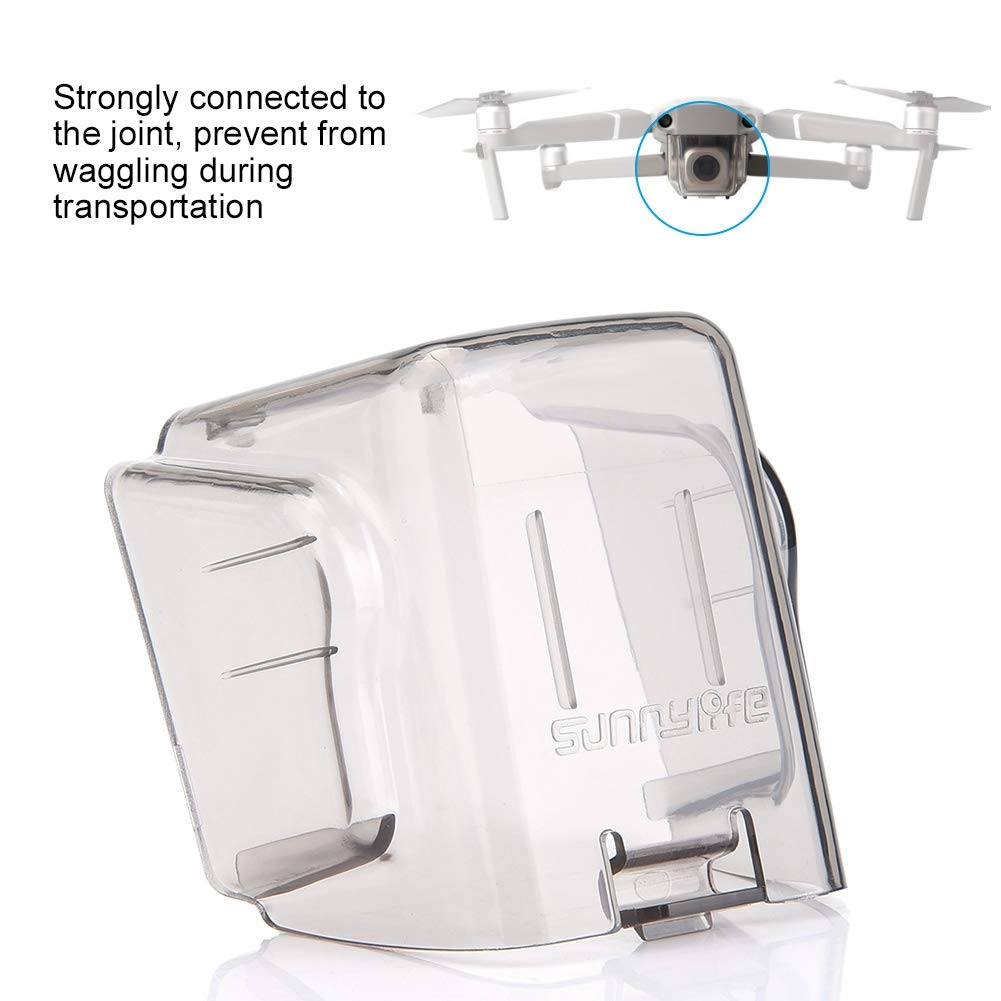 Copriobiettivo Drone PRO Sunnylife Cuffie copriobiettivo per Parabrezza Antipolvere per DJI Mavic 2