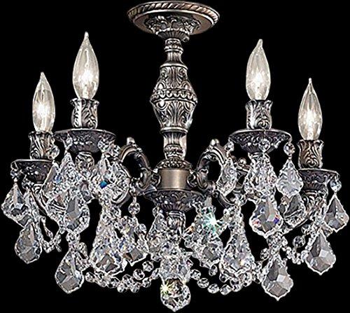 Classic Lighting 57384 AGP CP Chateau Imperial, Crystal, Flush/Semi-Flush, 18