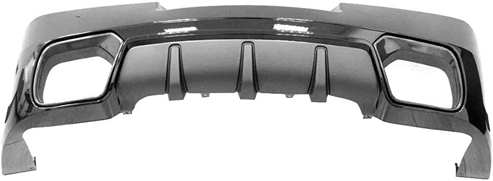 New Front Lower Bumper Engine Cover Valance Textured for Ford Fusion 2010-2012