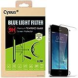 Cyxus filtre UV lumière mieux Dormir HD Effacer film protecteur d'écran pour Apple iPhone 5/5S/5C (iPhone5)