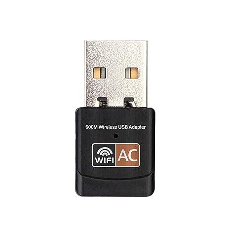 Dailyinshop Mini portátil de 600Mbps 2.4G / 5G Conexión de ...