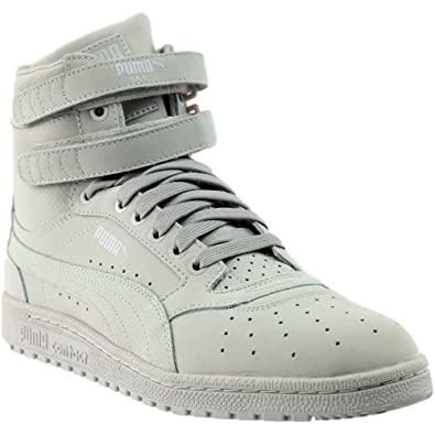 meilleur site web 5f01a 44c7c PUMA Mens Sky Ii High Nubuck Leather Basketball Casual Sneakers,