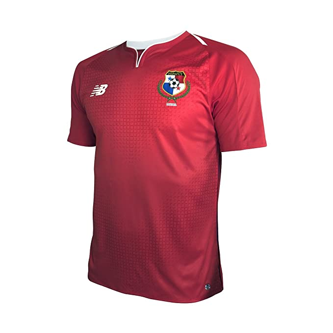 fefdc9f7750 Image Unavailable. Image not available for. Color: New Balance Panama Home  Soccer Men's Jersey FIFA World Cup Russia 2018 ...
