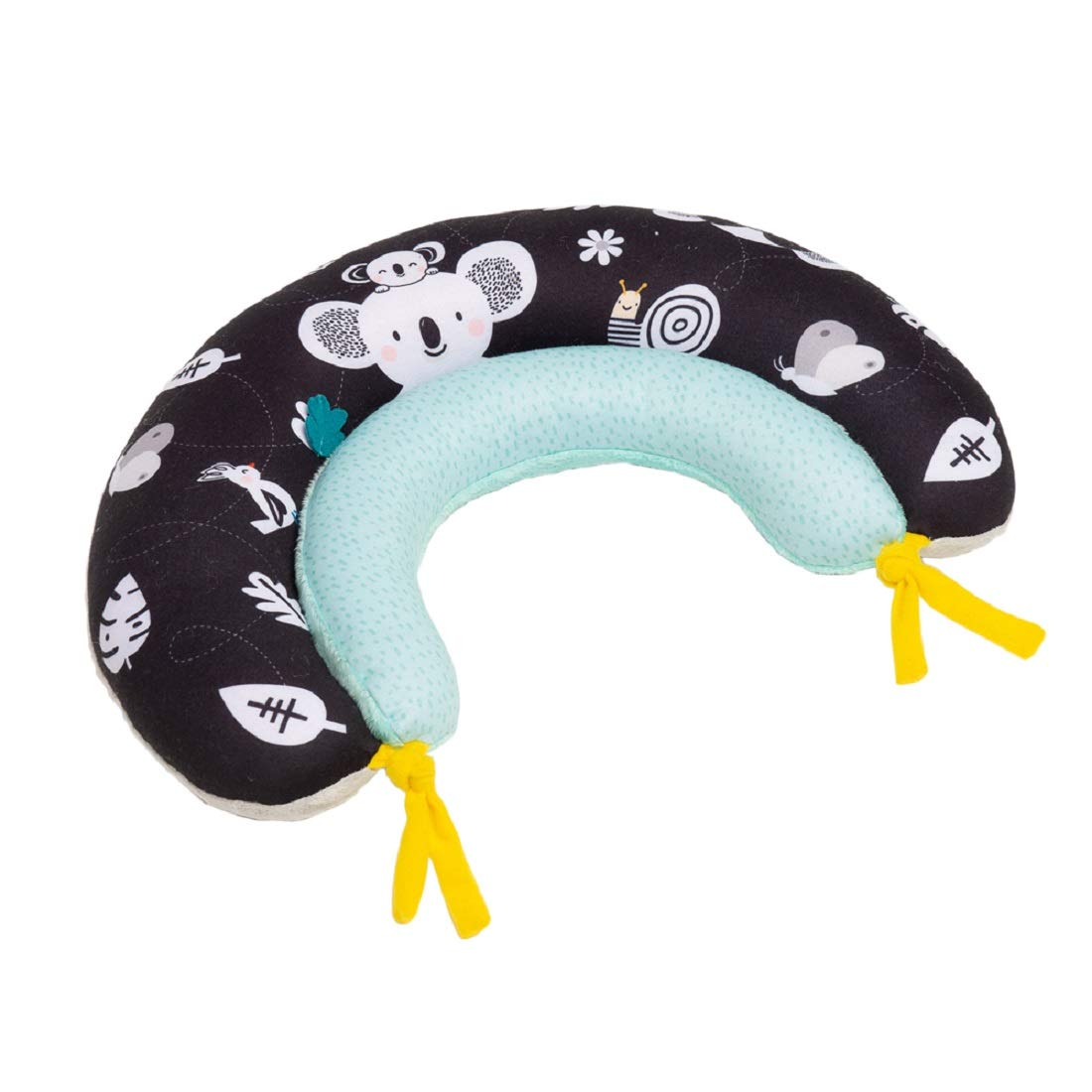 Taf Toys 2 in 1 Tummy-Time Soft Baby Developmental Pillow for 0-5 Months, Newborns and Infants Fun Play Time on Tummy