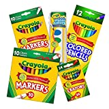 Best Crayola Educational Toys For 4 Year Olds - Crayola Back to School Essential Core Pack 5 Review